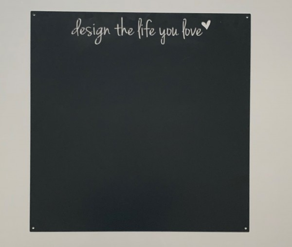 """Magnetwand """"Design the life you love"""""""