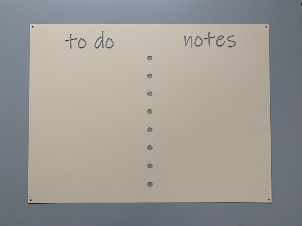 "Magnetwand ""To Do-Notes"""